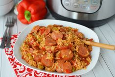 If you have been to New Orleans, you may have found that Jambalaya is on just about every restaurant menu. Or if you're from the south, you probably have had Jambalaya often anyways, but you've never quite had it like I'm serving it. How about serving your family up some yummy Instant Pot Jambalaya?