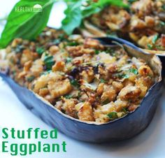 Stuffed Eggplant | Healthy Recipes Blog