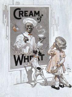 A Dainty Breakfast de Joseph Christian Leyendecker (1874–1951) illustrateur américain.