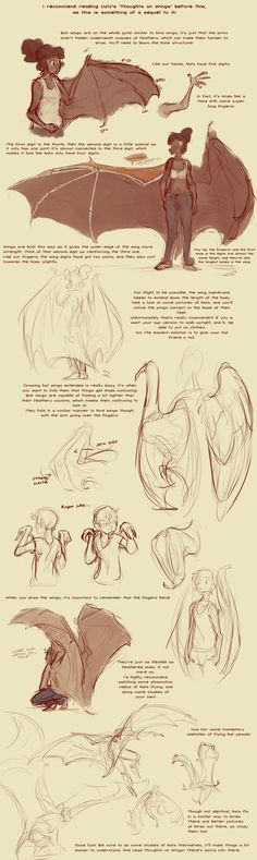 Bat Wing Tutorial by harrie5 on deviantART via PinCG.com
