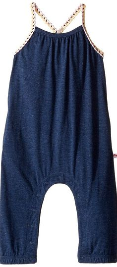 Appaman Kids Syros Jumper (Infant/Toddler/Little Kids/Big Kids) (Speckled Navy) Girl's Jumpsuit & Rompers One Piece - Appaman Kids, Syros Jumper (Infant/Toddler/Little Kids/Big Kids), P2SR-413, Apparel One Piece Jumpsuit & Rompers, Jumpsuit & Rompers, One Piece, Apparel, Clothes Clothing, Gift, - Fashion Ideas To Inspire