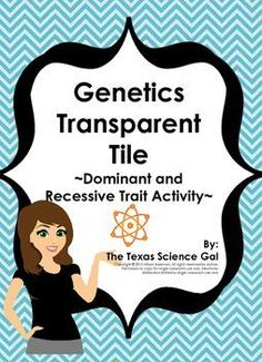 This download is an activity that involves students recording trials, being able to record and create genotypes, to identify phenotype based on created genotype. There are two versions of this lab, one is meant as a way to introduce the concept of homozyg