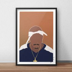 Tupac Shakur INSPIRED Print / Poster Trippy Painting, Cartoon Painting, Diy Painting, Cute Canvas Paintings, Mini Canvas Art, Tupac Shakur, 2pac, Tupac Art, Rapper Art