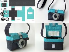 camerabag DIY with Spoonflower fabric