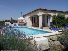 Vakantiehuis: Leuke vakantie villa (6p) in mooie omgeving met prive zwembad    te huur voor uw vakantie in Herault (Frankrijk)