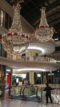Decoração de natal do Shopping Boulevard