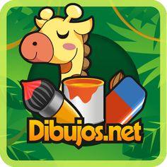 Pinta y colorea los dibujos de los animales de la Selva más divertidos con la aplicación para dibujar en tu móvil de Dibujos.net.