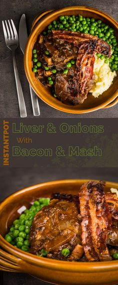 Offal may have fallen out of favour with many but my Liver and Onions recipe is a glorious nod back at the wonder of simple frugal cooking and of course comes bundled with bacon and mash. #offal #liver #onion #bacon #mashedpotato #britishfood #britishcuisine #traditionalfood #recipe #recipeoftheday #recipeideas