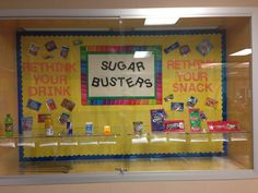 Sugar Busters: Rethink your drink/Rethink your snack