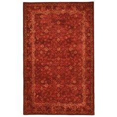 Liora Manne Goa 8262/24 Amrita Red Area Rug 5 Feet X 8 Feet