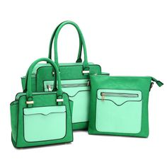 With most popular spring style and best craftsmanship, 2016 New Arrival Spring Series Green Tote Bag is a must-have for stylishness !Never miss it !!!