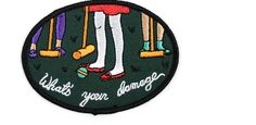 10 Ridiculously Cool Iron On Patches to Customize Your Denim Jacket