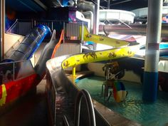 Therme Erding! A giant indoor water park near Munich!