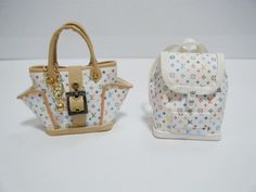 My dream purse and back pack, now to make them my size! 😉💗