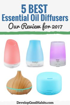 Best essential Oil Diffusers. See the review of the top 5 essential oil diffusers to see which is the right one for you.