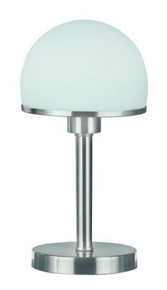 5922 - TRIO - lampa stolná dotyková - matný nikel - 390mm