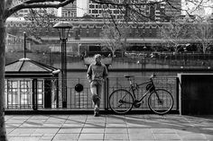 Waiting at the Riverside Melbourne Australia August 2014