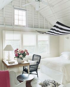Love this coastal them white beach bedroom x