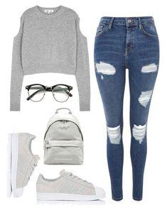 Casual Y Cool Para La Escuela. •A C V•