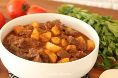 Pot Roast with Potatoes - The potatoes are delicious and coated in a wonderful sauce. Not to mention the meat, which is incredible. Stuffed Hot Peppers, Stuffed Mushrooms, Tomato Paste, Sugar And Spice, Pot Roast, Stew, Dog Food Recipes, Spices, Things To Come