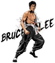 "Bruce Lee14"" x 16""Adobe PhotoshopApril 18, 2014"