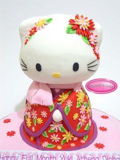 Hello Kitty Kimono Merah 3D | Flickr - Photo Sharing!