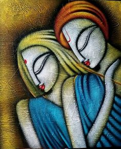 Indian modern art paintings inspiration ideas for 2019 Texture Painting On Canvas, Canvas Painting Tutorials, Acrylic Painting Canvas, Fabric Painting, Rajasthani Painting, Rajasthani Art, Easy Canvas Art, Small Canvas Art, Madhubani Art