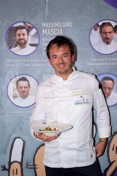 Lo chef Riccardo Agostini del Ristorante Il Piastrino di Pennabilly  #chef #festivaldellacucinaitaliana #cesenatico #cibo #food #wine #vino