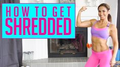 How to get SHREDDED! New video is up! Talking on this topic today :)