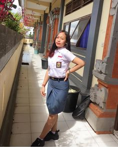 sriwidhiiis . ________________________________________________ Kamu mau dipromote juga? syaratnya wajib follow semua instagram dibawah… Waist Skirt, High Waisted Skirt, Indonesian Women, School Uniform, Bali, Leather Skirt, Skirts, Instagram, Fashion