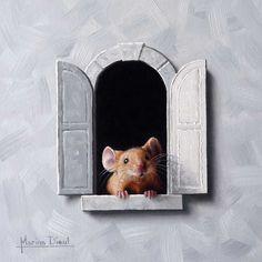 Mouse  http://marinadieul.com/souris-a-la-fenetre-11-e/marina-dieul-animals.html