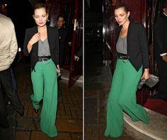 Kate Moss looks stunning post PFW! - look.co.uk