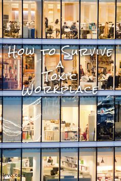 How to survive the workplace