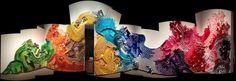 Art from Paper Cups artist Lisa Hoke