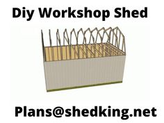This 12x20 barn shed plan is just the perfect size to build that workshop you've always wanted.  It's got wide 5' double shed doors up front, sturdy floor construction, and a huge loft up above for storage.  Download the shed plans and start building tomorrow.  Learn more by clicking the link.