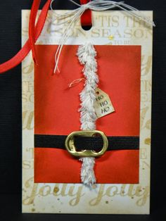 I lean to the CAS side of card making so this is a bit of a stretch for me. Christmas Tag, Xmas, Winter Theme, Atc, Gift Tags, Mixed Media, Card Making, Gift Wrapping, Stamp