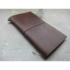 Midori traveller's notebook regular brown - Midori - Merken
