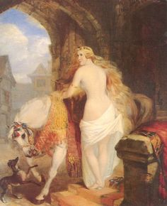 Lady Godiva: Anglo-Saxon noblewoman or Medieval legend? Lady Godiva, Greyhound Art, Italian Greyhound, Museum Of Fine Arts, Art Museum, Web Gallery, Anglo Saxon, Art History, Painting & Drawing