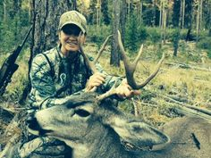 """Prois staff member Candy Yow says """"Great time at Buck camp this past week with family and friends, 9 tags and 9 filled, so much fun, Prois was there!!!!"""" #buck #hunting #prois #proswasthere"""