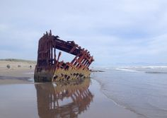 See the remains of the 1906 shipwreck Peter Iredale on the beach at Fort Stevens State Park in Astoria. CRW_5236. In the Oregon Coast's ...
