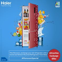 Time to style up your kitchen with a new #refrigerator from #Haier. Write to us on myhaier@haierindia.com