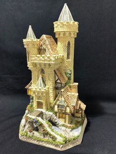 Guardian Castle David Winter Cottages #'d Thomas Kinkade - Mint in-Box w/ C.O.A