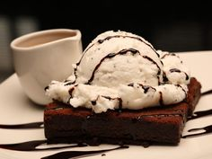 Brownie con Helado | Princesa