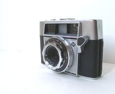 Vintage 35mm Camera, Agfa Optima Original with Leather Case via Etsy
