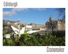 Join us and send us your crane and don't forget to share and spread the words! #CraneMaker #Edinburgh #Scotland