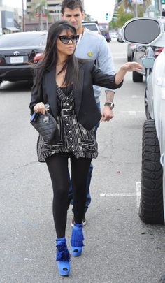 I love Kourtney's eclectic, quirky style