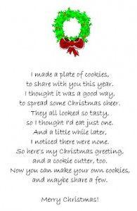 Secret Santa reveal poem | Christmas | Pinterest | Secret ...