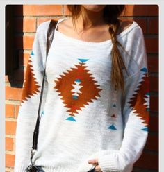 Have to have another Aztec sweater