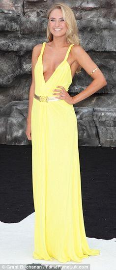 Kimberley Garner + gown