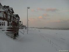 Houlgate sous la neige